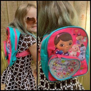 Too Cute, DISNEY, DOC MCSTUFFIN, mini backpack!!